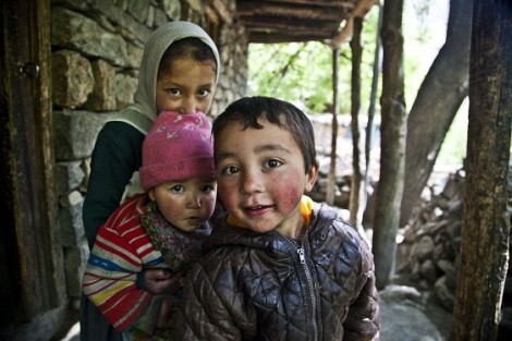 Kids in Turtuk